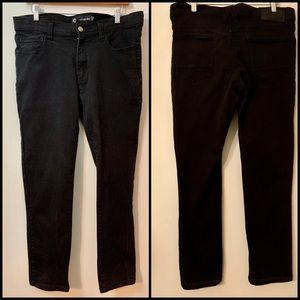 "Akodemiks Black Skinny Jeans Size 34"" Waist"